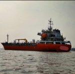 Shallow Drafrt Tanker