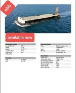 Barge for Charter