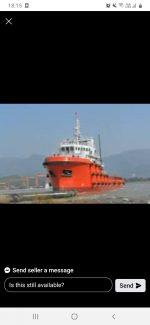Offshore Vessel 6800 HP 59 M 1742 DWT AHTSV